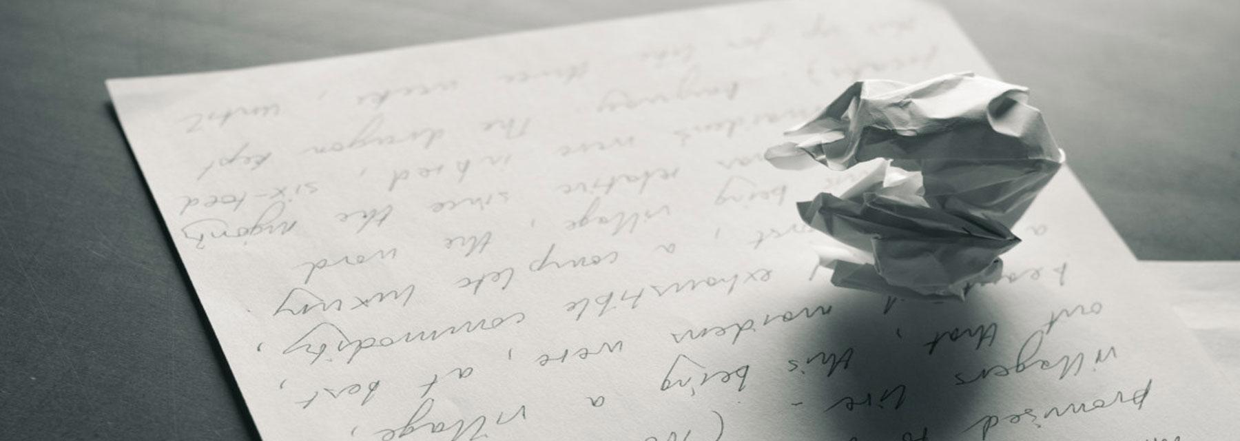Dear Writing…