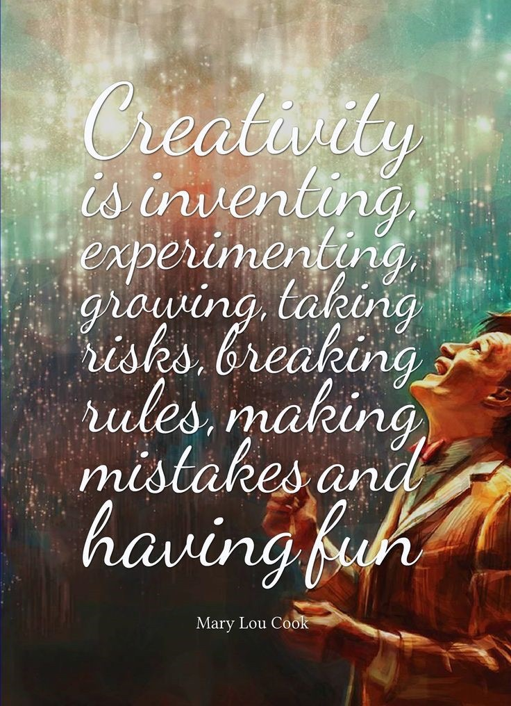 Creativity - Mary Lou Cook