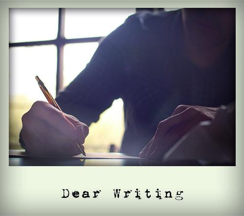 Dear Writing | Matt Pucci